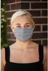 Mondor Adult Cotton Pleated Mask - Metal