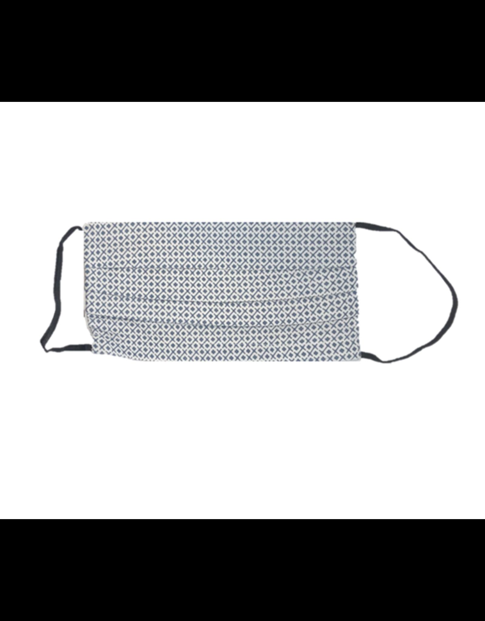 Mondor Junior Cotton Pleated Mask - Lattice