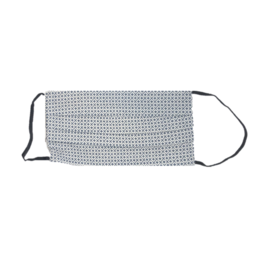 Mondor Junior Cotton Pleated Mask - Lattice