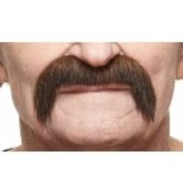 European Moustaches Moustache 10.5cm x 7.5cm Brown/Red