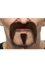European Moustaches Moustache Set 10.5 x 7.5 - Dark Brown