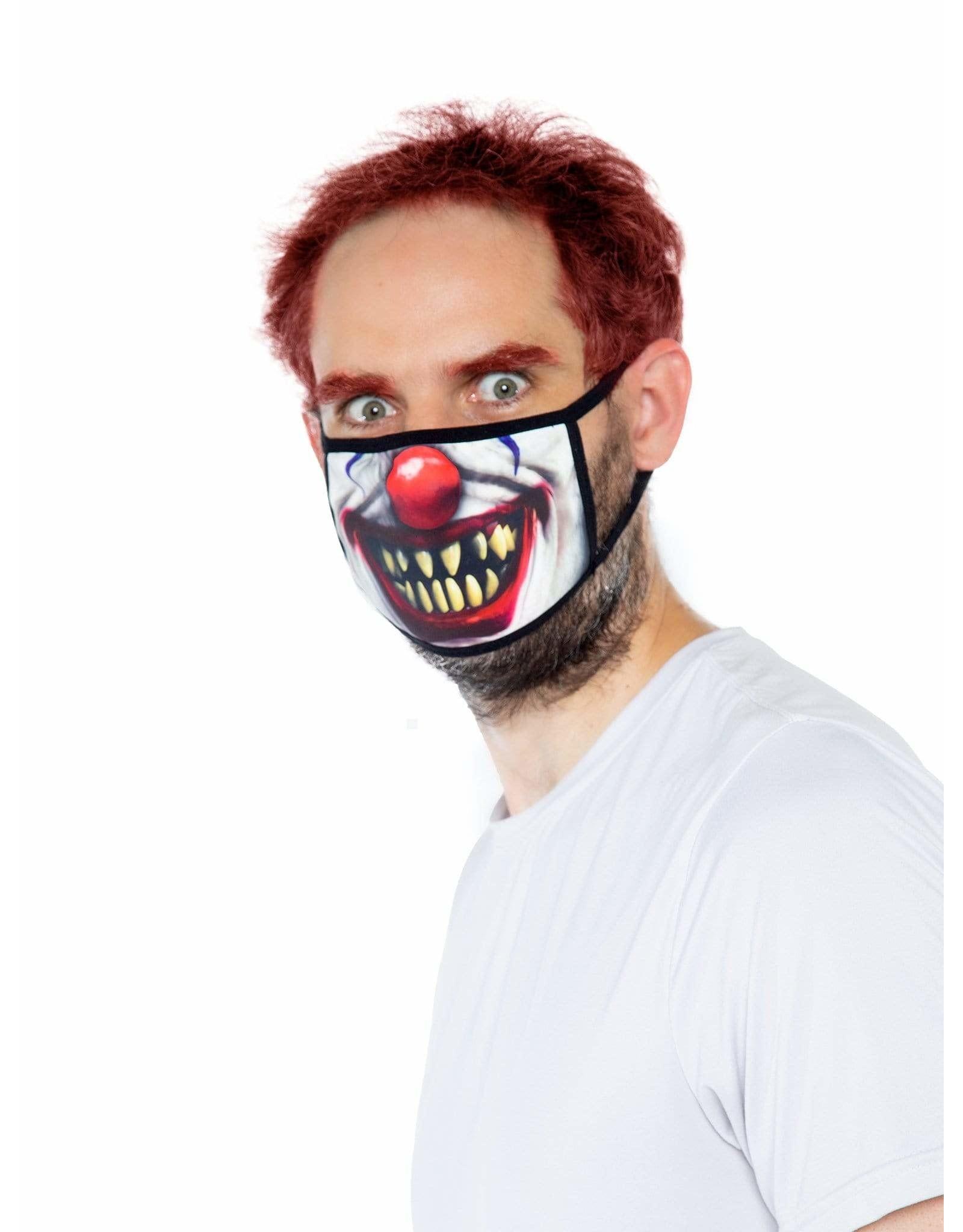 Leg Avenue Creepy Clown Face Mask