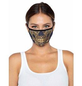 Leg Avenue Gold Skull Face Mask