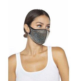 Leg Avenue Mika Rhinestone Face Mask