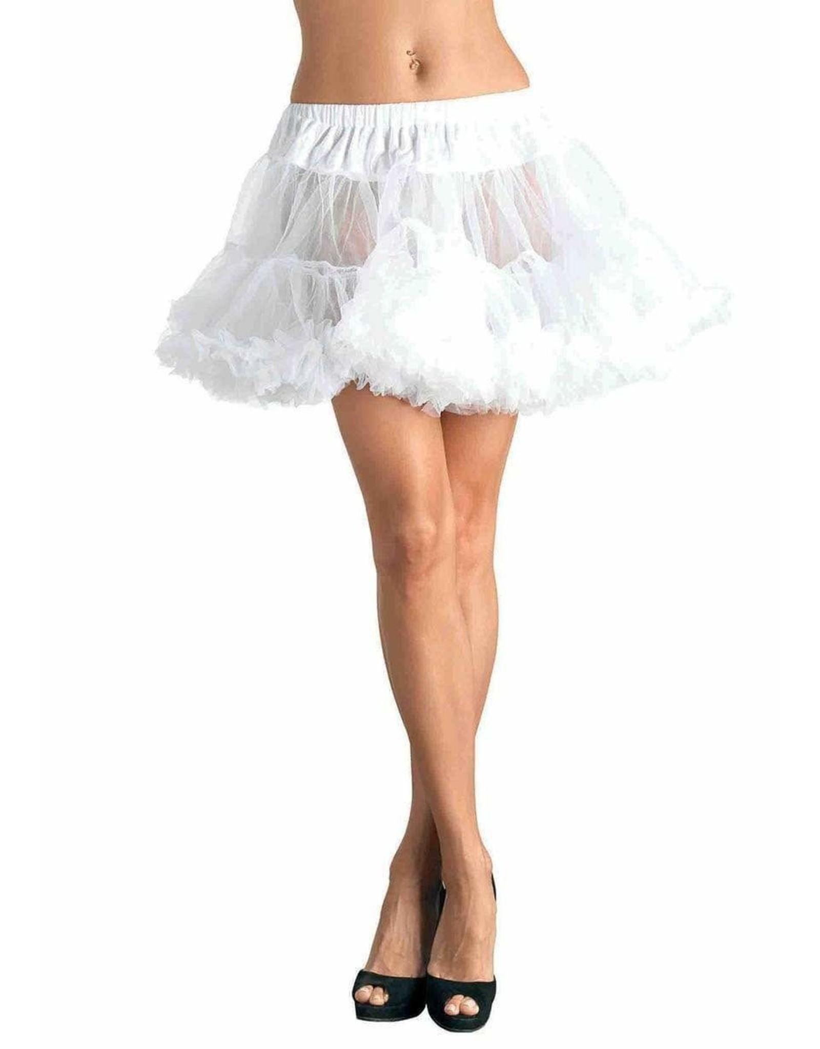 Leg Avenue White Petticoat