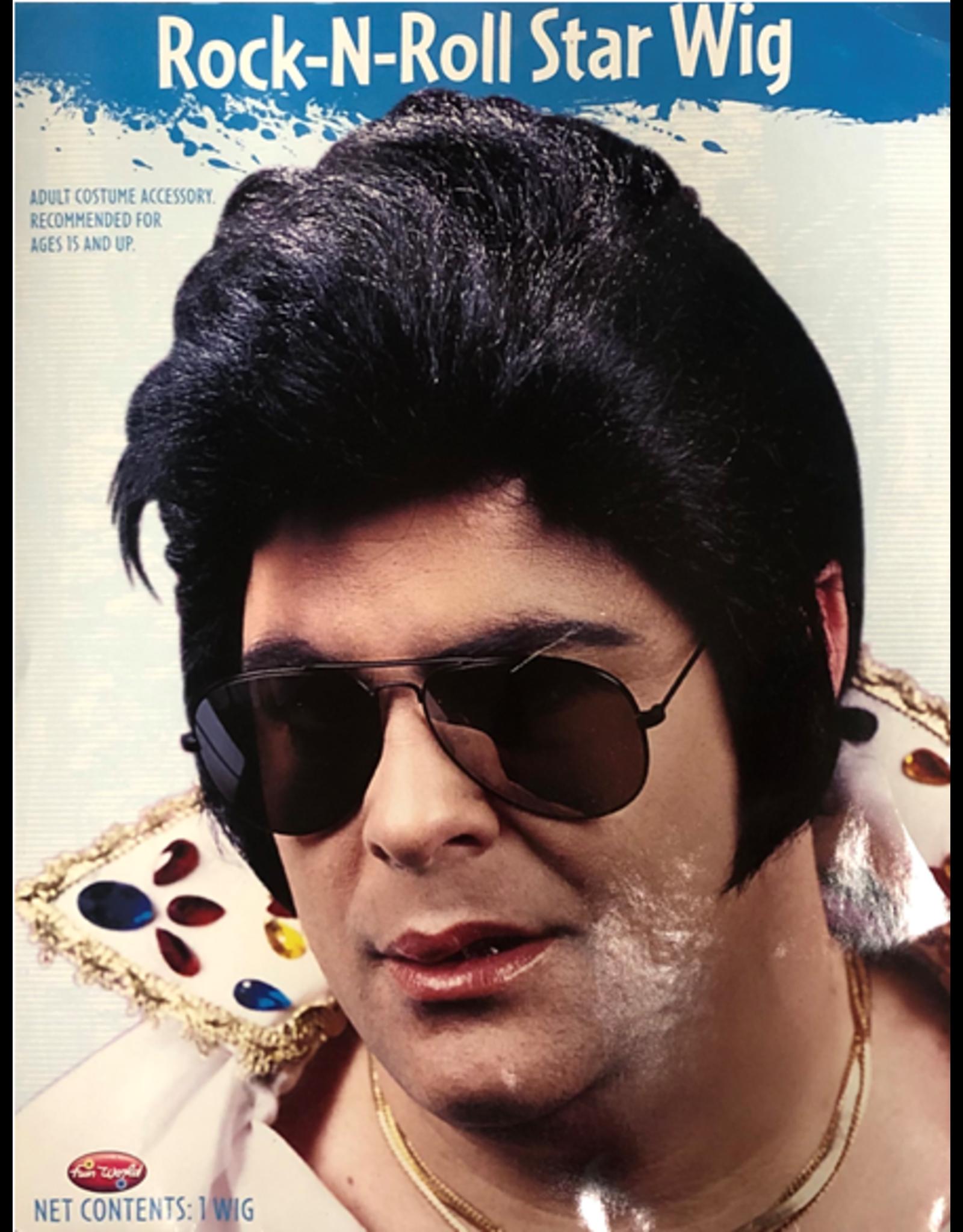 Fun World Rock-N-Roll Star Wig