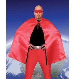 HM Smallwares Superhero Cape w/Mask Red