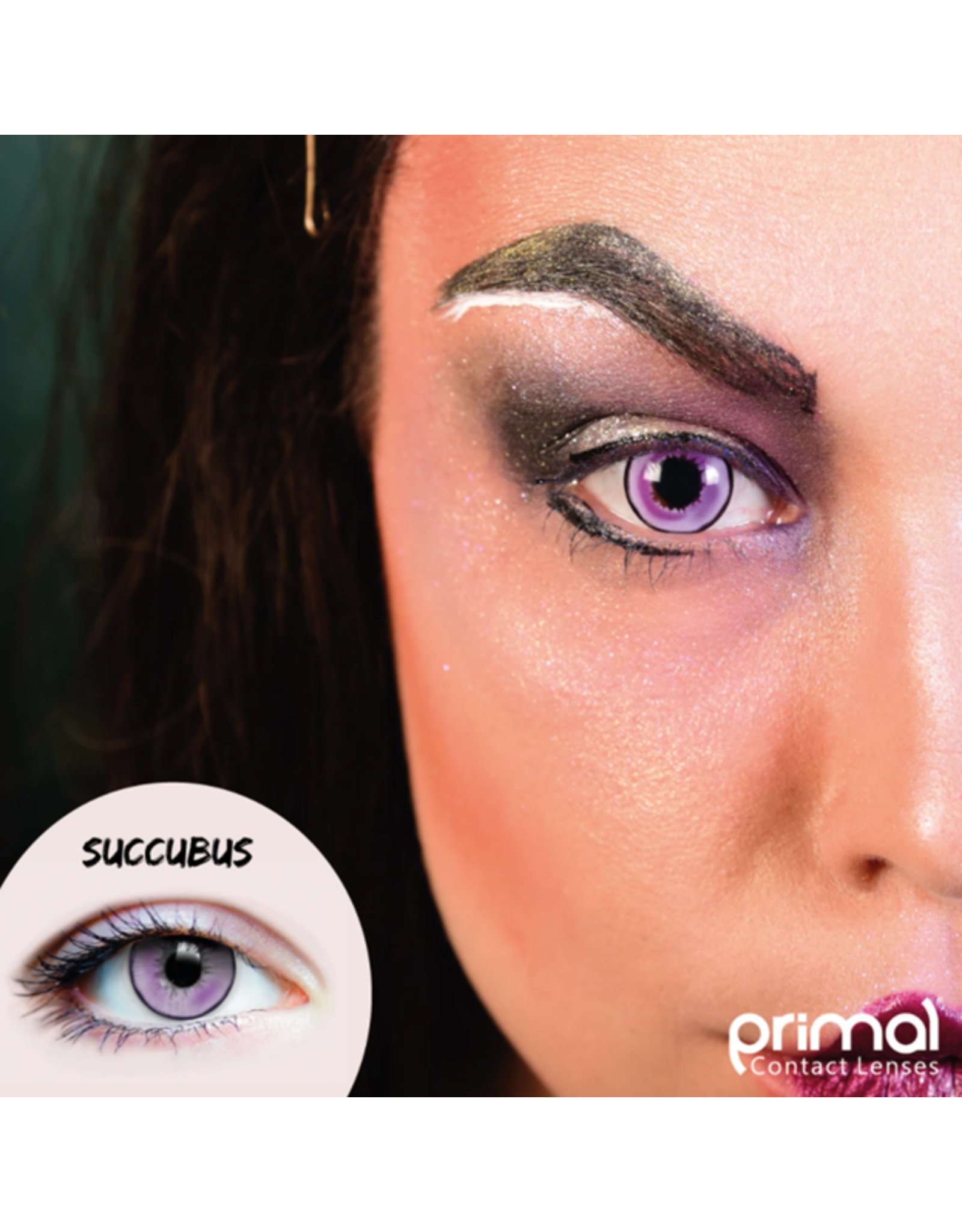 Primal Costume Contact Lenses - Succubus
