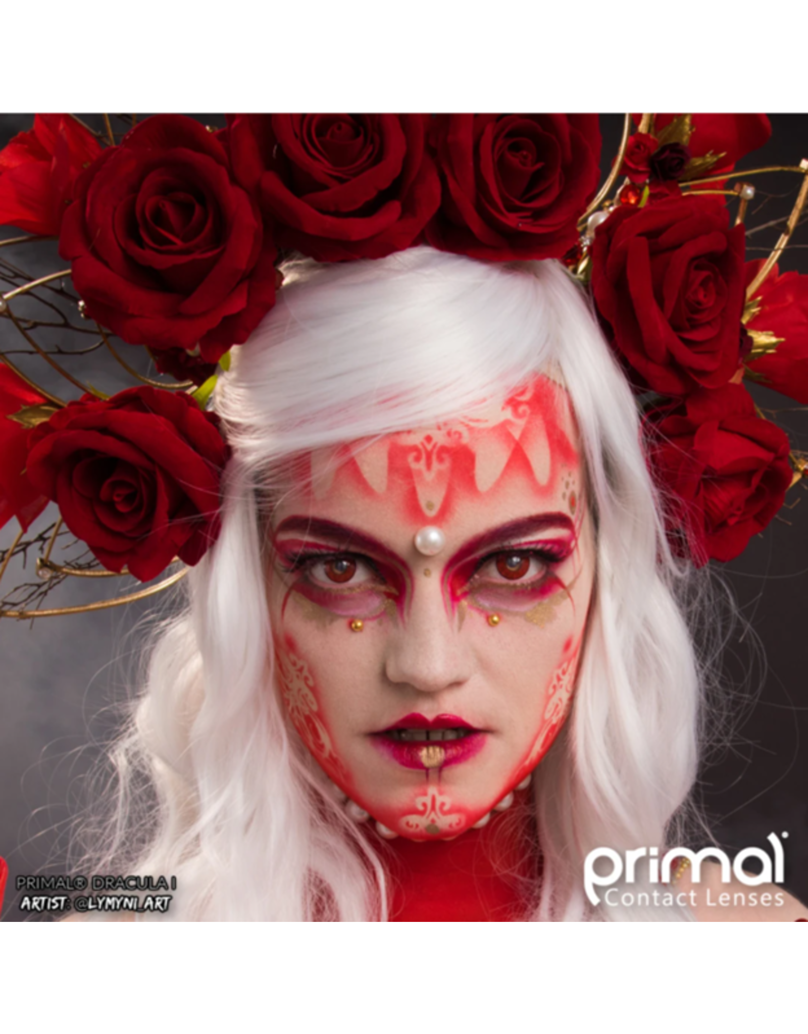 Primal Costume Contact Lenses - Dracula I