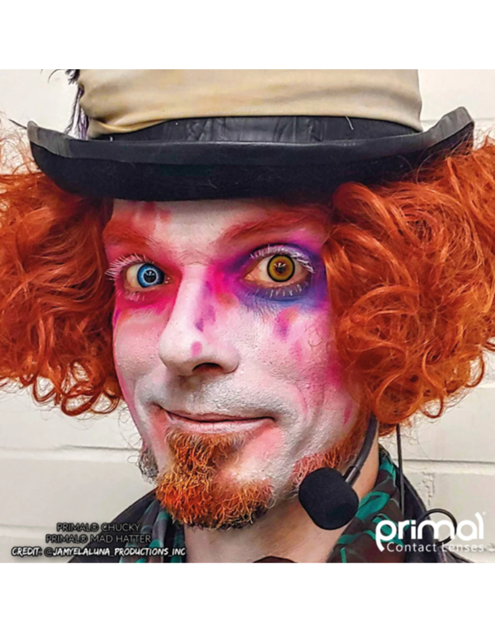 Primal Costume Contact Lenses - Madhatter
