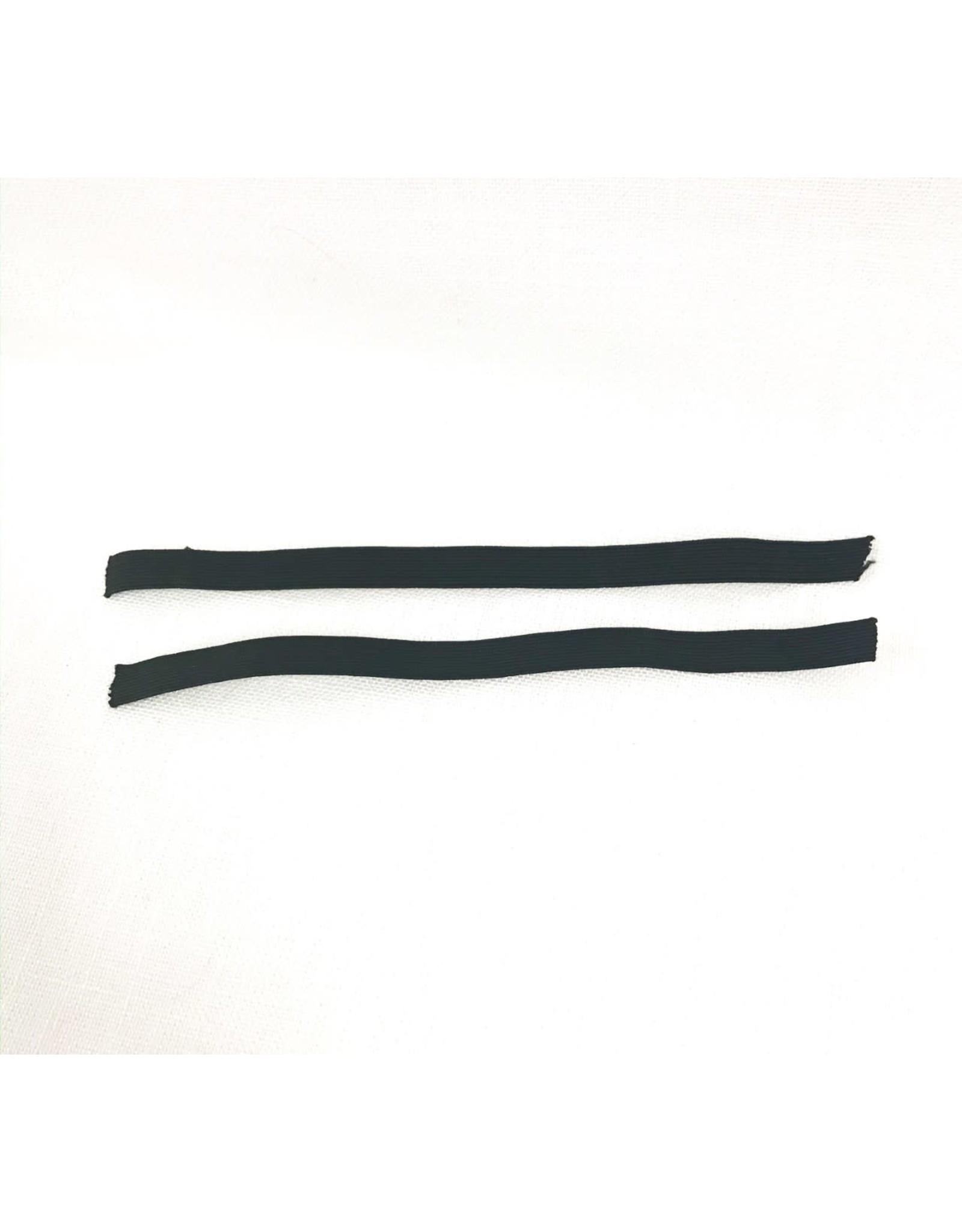 "Bloch 1/2"" Shoe Elastic Black"