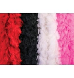 Forum Novelties Inc. 140 Gram Feather Boa Red