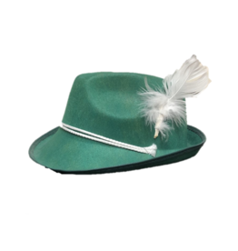 Karries Kostumes Green Alpine Hat