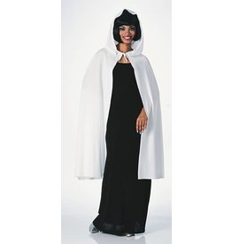"Rubies Costume White 45"" Hooded Cape"