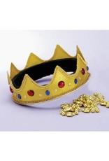 Forum Novelties Inc. Adjustable Queen Crown Red/Blue Jewel - Short