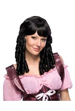 Secret Wishes Black Baby Doll Wig