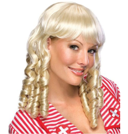Secret Wishes Blonde Baby Doll Wig