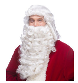Westbay Wigs Deluxe Santa Beard and Wig