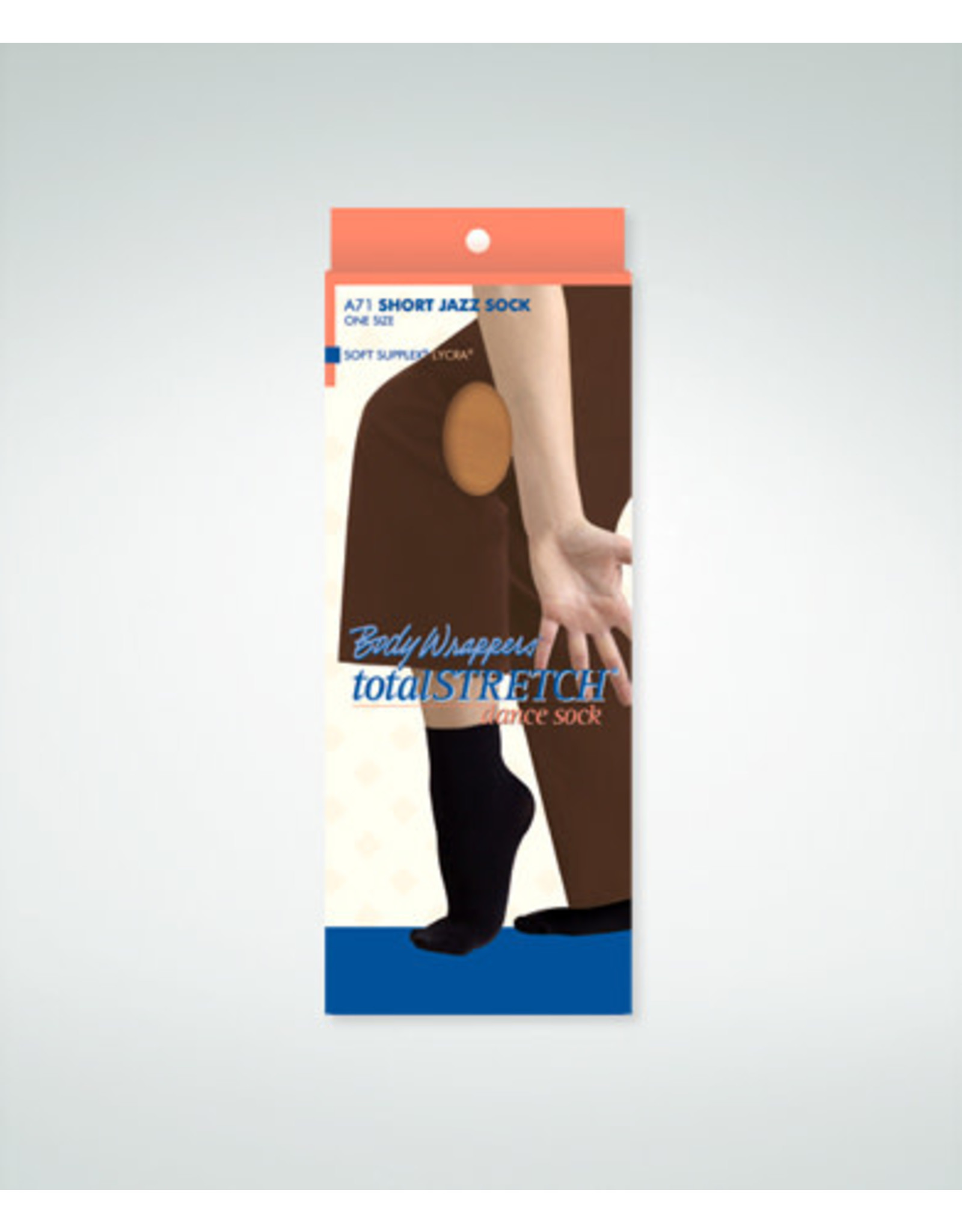 Body Wrappers Ankle Tights  Jazzy Tan