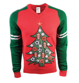 Forum Novelties Inc. Sports Christmas Sweater