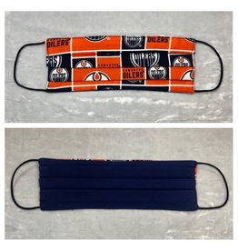 Karries Kostumes Lrg Fabric Face Mask - Oilers