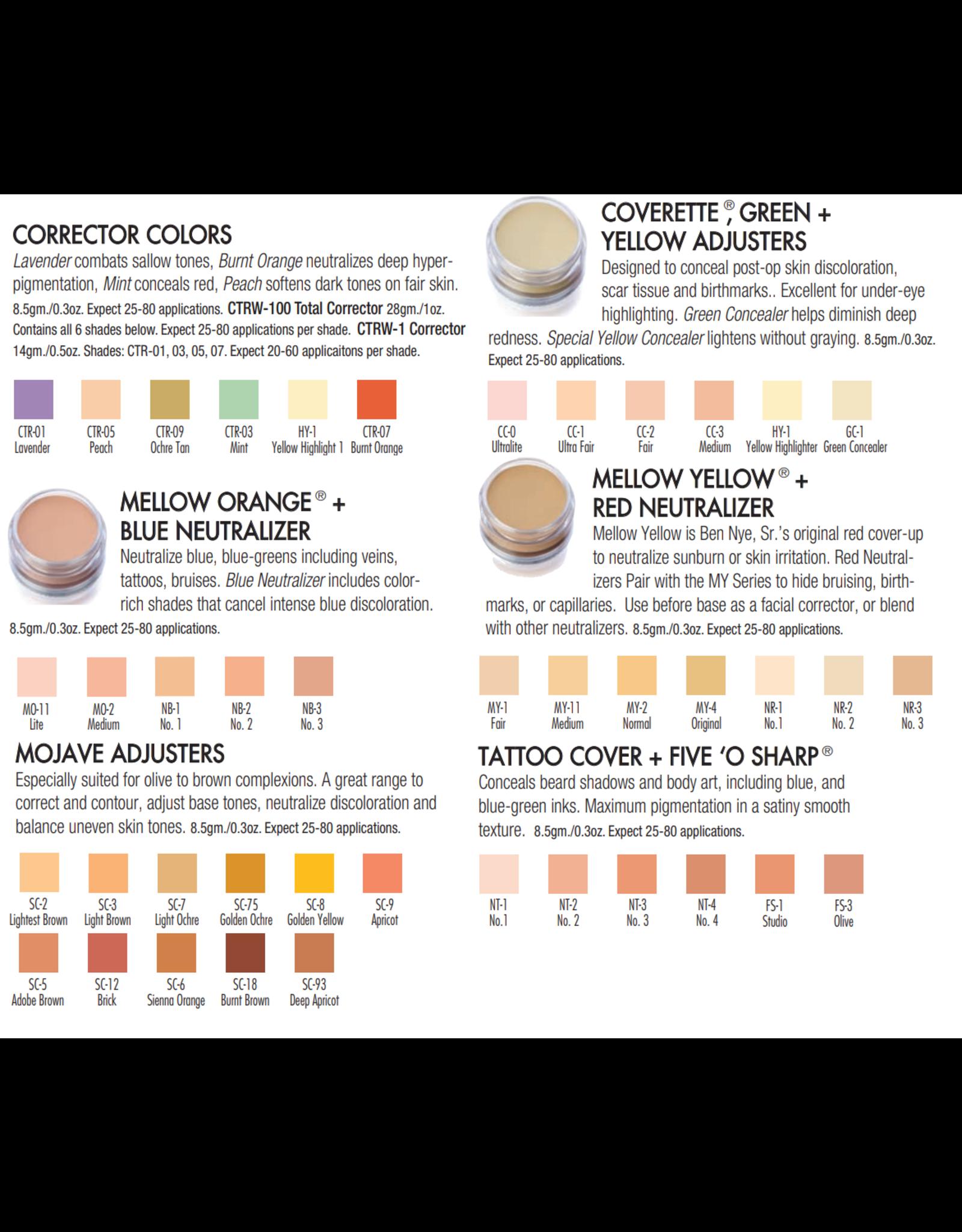 Ben Nye Ben Nye Tattoo Cover Concealers & Adjusters