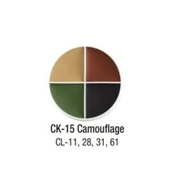 Ben Nye Ben Nye Camouflage Creme FX Wheel