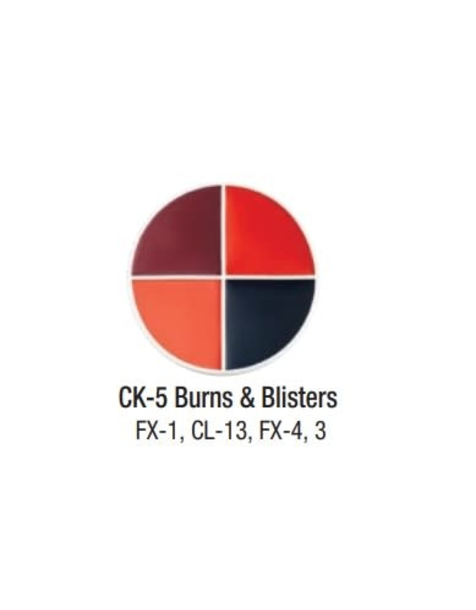 Ben Nye Ben Nye Burns & Blisters Creme FX Wheel