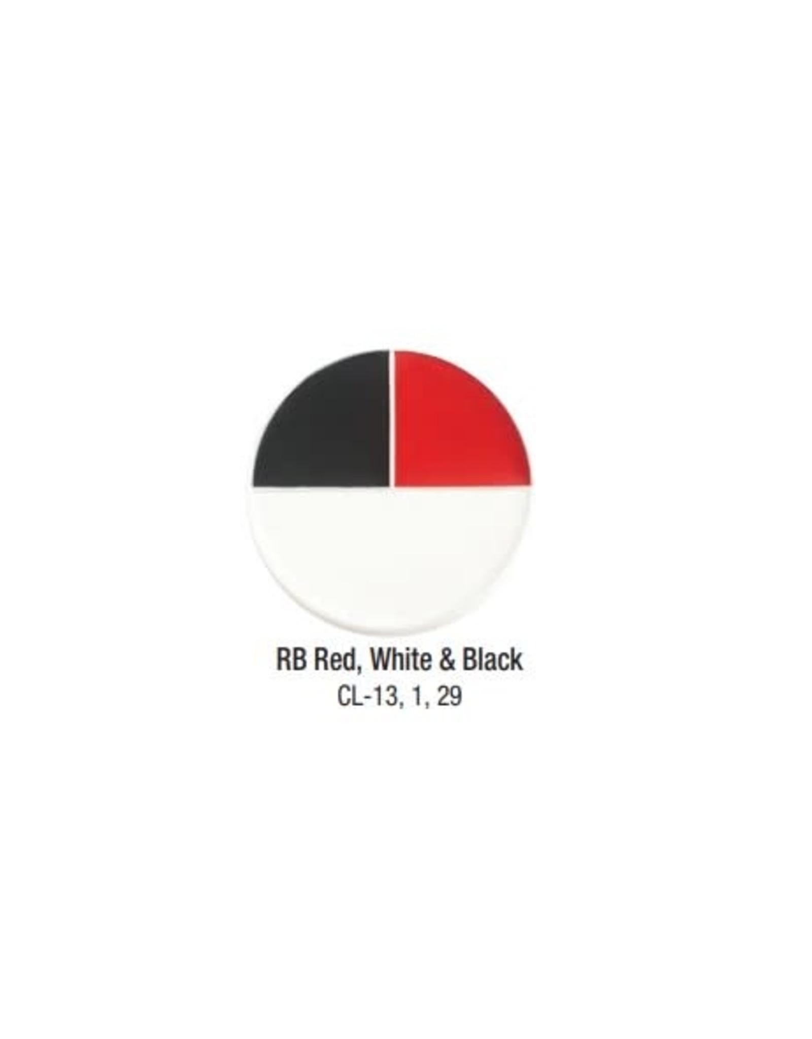 Ben Nye Ben Nye Red White & Black Creme FX Wheel