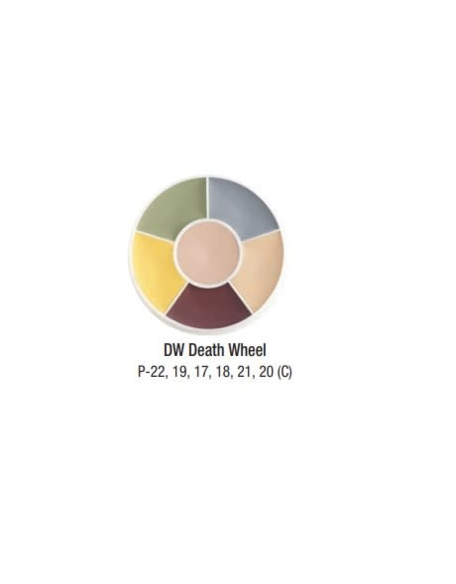 Ben Nye Ben Nye Death Creme FX Wheel