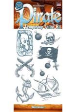 Tinsley Transfers Temporary Tattoos - Buccaneer Pirate