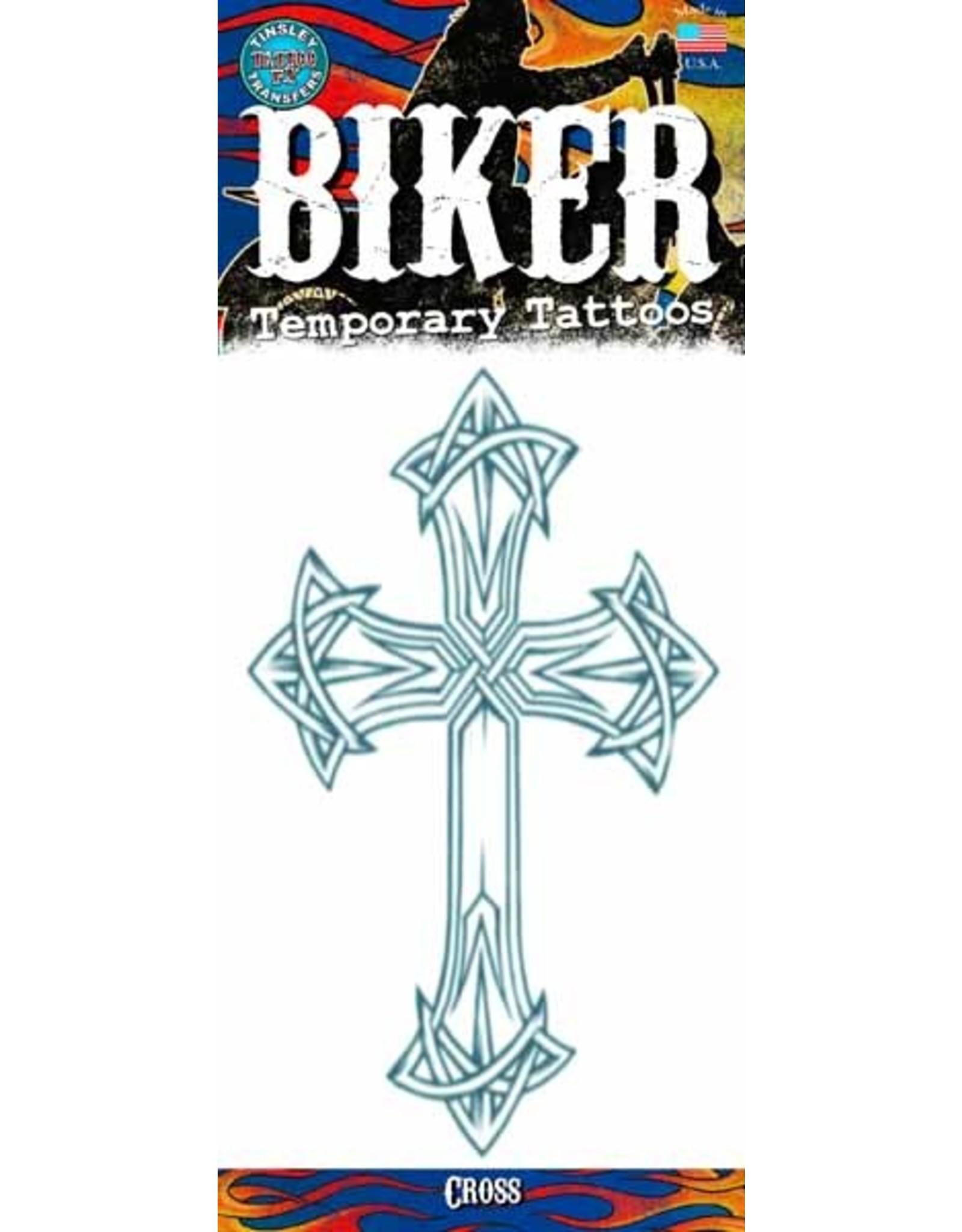Tinsley Transfers Temporary Tattoos - Cross