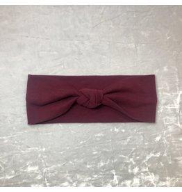 Maple & Moon Burgundy Headband