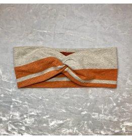 Maple & Moon Orange Stripe Headband