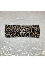 Maple & Moon Leopard Knot Headband
