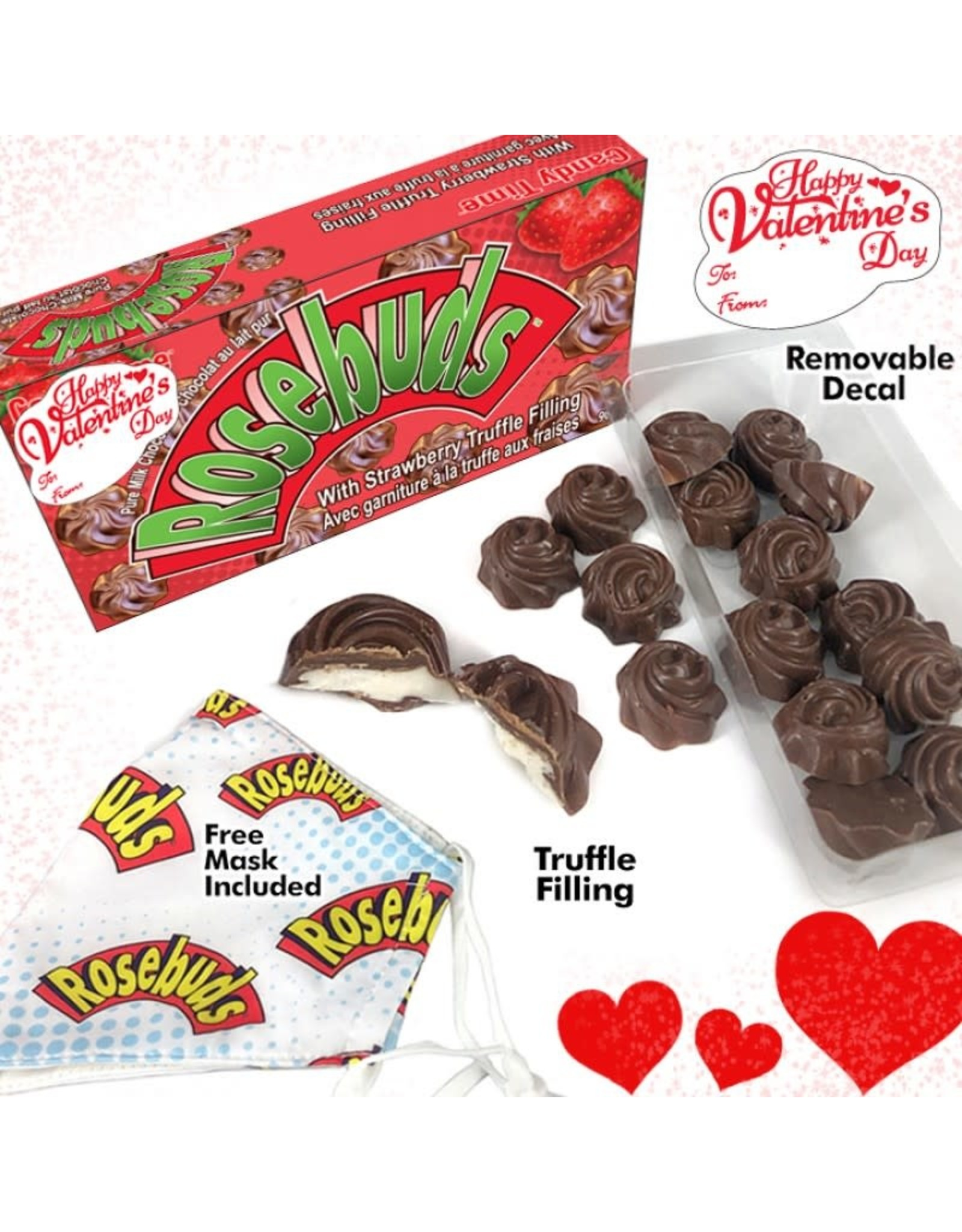 Jimmy Zees Chocolate Strawberry Rosebuds