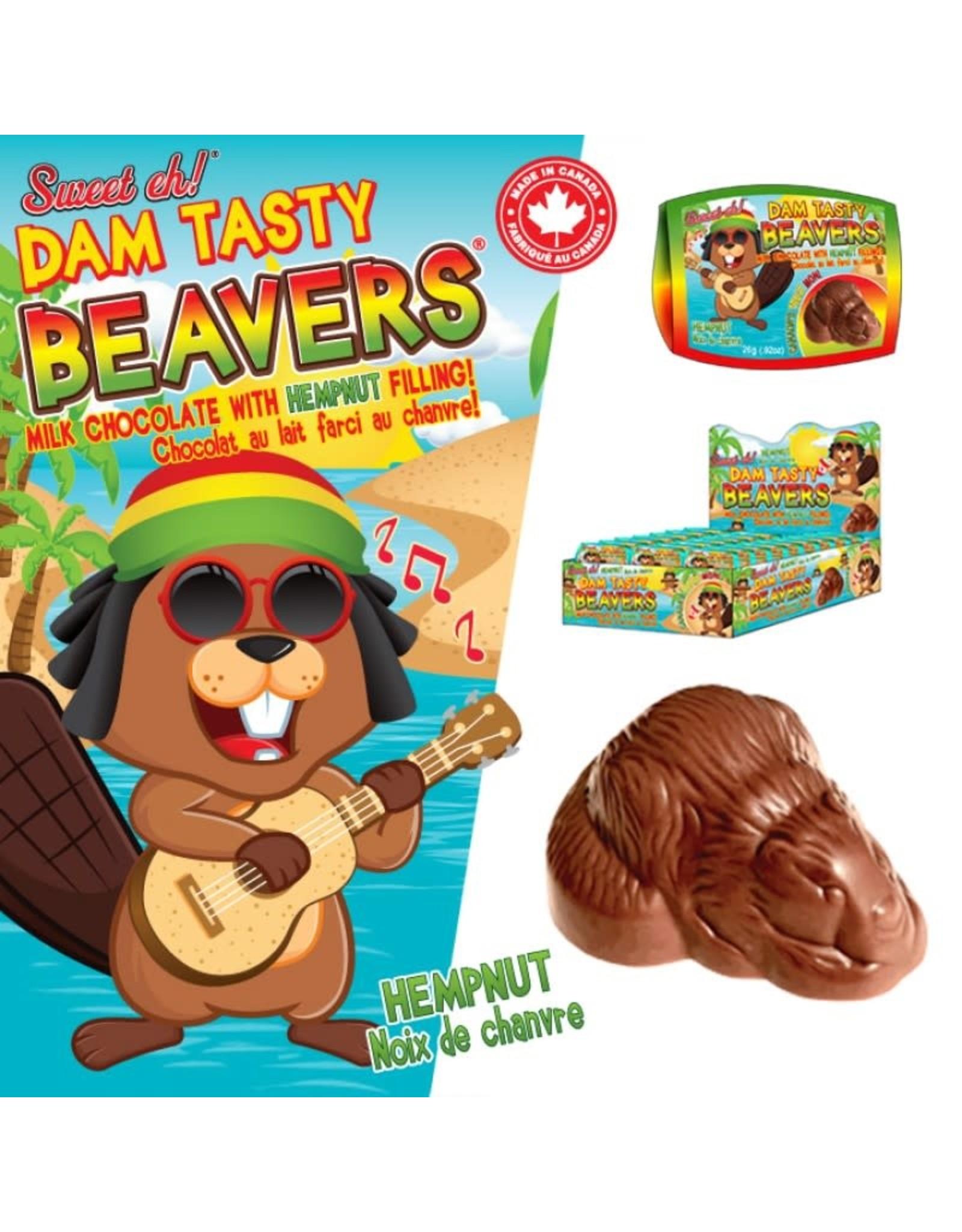 Jimmy Zees Dam Tasty Beaver - Milk Chocolate Hempnut