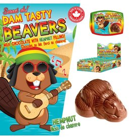 Jimmy Zees Dam Tasty Beaver - Milk Chocolate
