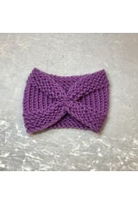 Studio Bella Lilac Hand-Knit Ear Warmer