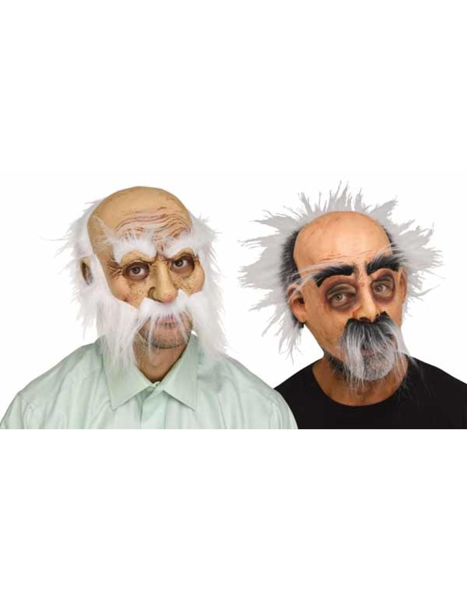Fun World Whisker Walters Old Man Mask