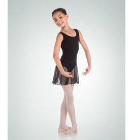 Body Wrappers Pull-On Children's Dance Skirt - Black