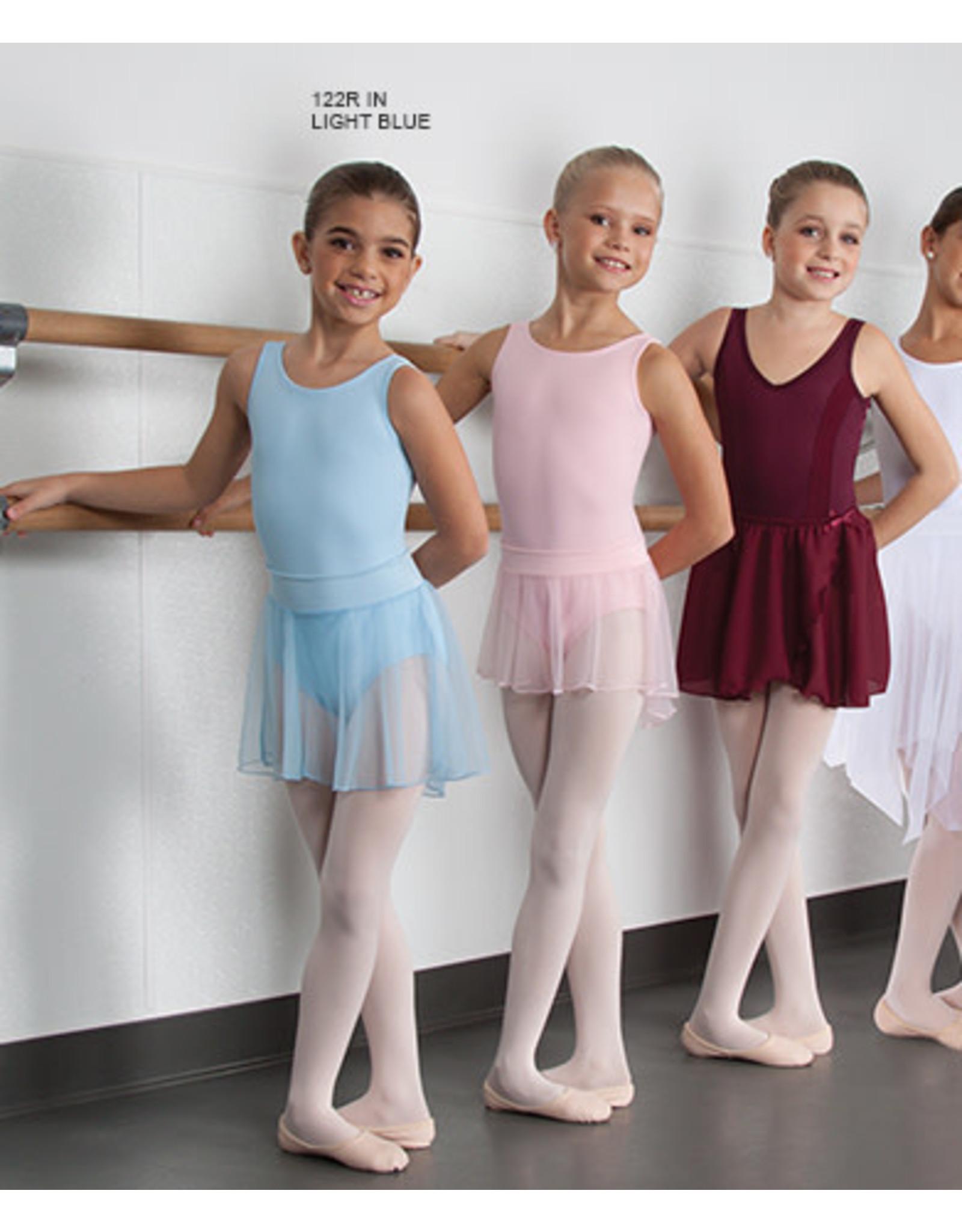 Body Wrappers Pull-On Children's Dance Skirt - Light Pink