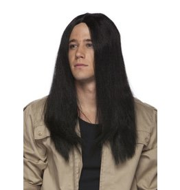 """Westbay Wigs 20"""" Long Parted Wig - Black"""