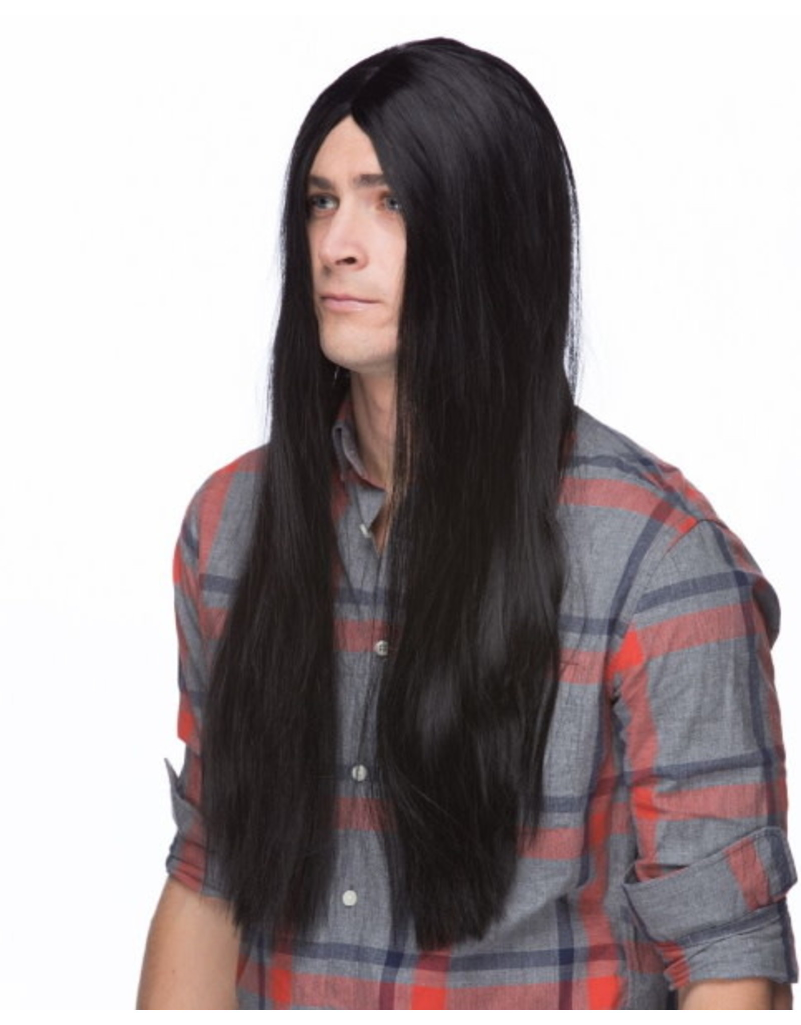 """Westbay Wigs 26"""" Long Parted Wig - Black"""