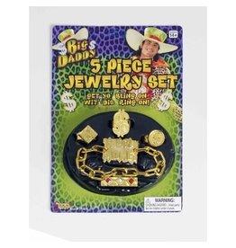 Forum Novelties Inc. Big Daddy Jewelry Set