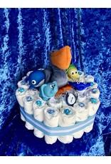 Diaper Cakes by Leah Pelican Diaper Cake