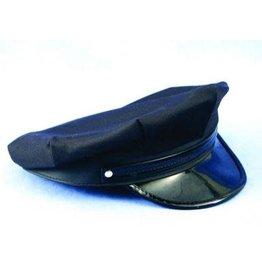 HM Smallwares Black Police/Chauffeur Hat