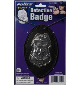 Forum Novelties Inc. Detective Badge