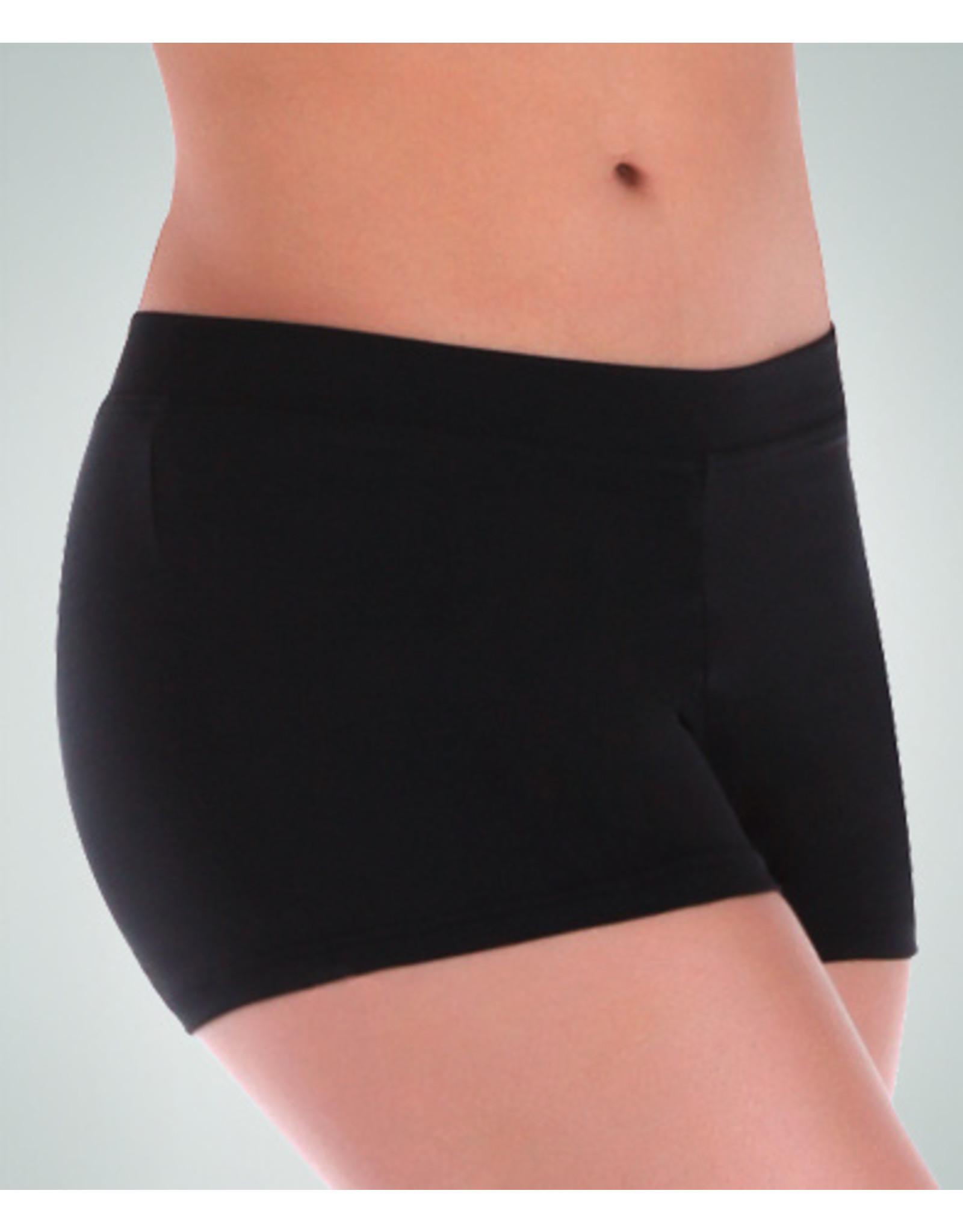 Body Wrappers Black ProWEAR® Boy-Cut Short