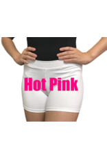 Body Wrappers Hot Pink Boy-Cut Shorts